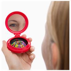 Specchietto Da Borsa Con Spazzola Integrata Colors