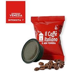 100 Capsule Compatibili Lavazza A Modo Mio - 100 Capsule Caffè Venezia Compatibili Macchina Caffè Lavazza A Modo Mio - Macchina Caffè Lavazza Kit 100 Capsule Compatibili - Il Caffè Italiano