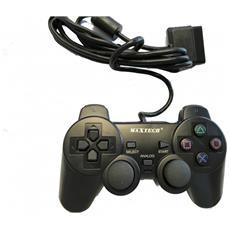 Joypad Joystich Controller Con Filo Compatibile Paystation Ps2 2 Pezzi