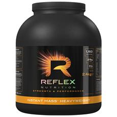 Instant Mass Heavy Weight 2.4 Kg - Reflex - Gainers, Mass Gainers - Cioccolato
