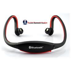Cuffie Auricolari Bluetooth Mp3 Sport Ascolta La Musica X Android Apple