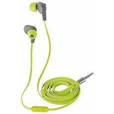 Aurus Auricolare In-Ear Impermeabile Cablato Colore Verde