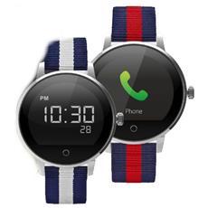 "Techwatch T2 Display 1.22"" Bluetooth con Cardiofrequenzimetro Incluso Blu / Rosso – Italia"