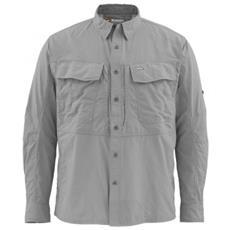 Camicia Guide Ls Shirt Concrete Grigio L