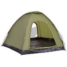 Tenda Per 6 Persone Verde