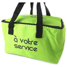 borsa termica 'coloriage' verde (al vostro servizio) - 258x248x185 cm - [ n5141]