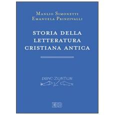 Storia della letteratura cristiana antica