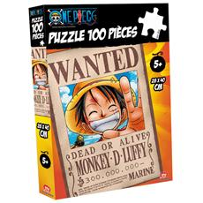 Puzzle 100 Pz Wanted Rubber