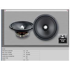 Midrange m162 canali centrali LOUDSPEAKER MID BASS soundmakers 164 mm