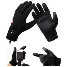 Set Da 2 Guanti Impermeabili Touch Per Moto E Neve Misura M