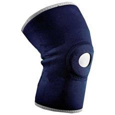 Protezione Ginocchio 013 Multicompressione Fascia Sport Sostegno Rotula Knee Supporto Elastica Velcro Neoprene
