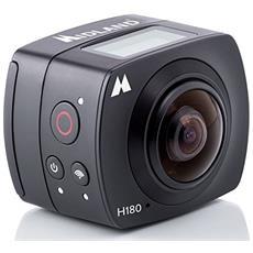 Action Cam H180 Sensore 8 Mpx Full HD Lente Grandangolare 220° Wi-Fi Impermeabile RICONDIZIONATO