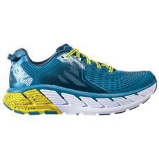 HOKA ONE ONE - Scarpe Running Uomo Giaviota A4 Stabile Taglia 8 - Colore   Azzurro   giallo d8d8ded2fa1
