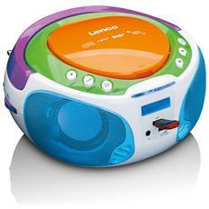 SCD-651 Analog / Digital Multicolore radio CD