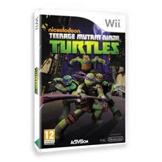 WII - Teenage Mutant Ninja Turtles