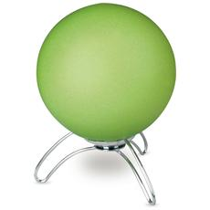 I-192/00200 - Lampada da tavolo verde a forma di cosmo 40 watt E14