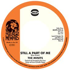 """Minits (The) - Still A Part Of Me (7"""")"""