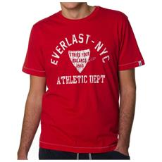 T-shirt Blow It Off Rosso Xl