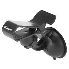 """Supporto da Auto a ventosa per Smartphone da 4"""" / 5"""" con rotazione verticale / orizzontale"""