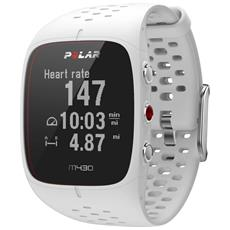M430 Sportwatch Training Computer con GPS Integrato e Cardio al Polso Colore Bianco