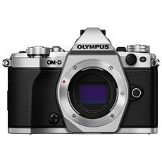 OLYMPUS - E-M5 Mark II Silver Body Sensore Live MOS...