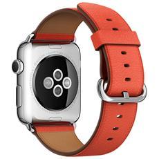 Cinturino Classic da 42 mm per Apple Watch colore Rosso