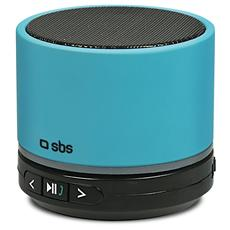 Speaker Audio Portatile Piper Bluetooth Slot SD Potenza Totale 3Watt colore Blu