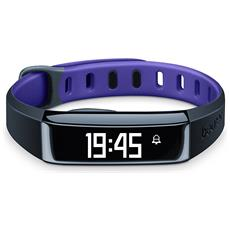 Activity Tracker AS 80 C Bluetooth per Fitness Colore Viola - Europa