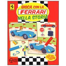 Gioca con la Ferrari nella storia. Con adesivi