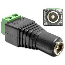IADAP TB2-DC2555F - Adattatore Alimentazione DC 2.5 x 5.5 mm Femmina Terminal Block 2 pin