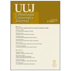 Urbaniana University Journal. Euntes Docete (2016) . Vol. 1: Focus: Lanza del Vasto fondatore dell'arca-interprete teologico di Gandhi.