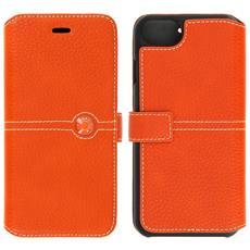 Custodia Portafoglio Façonnable Per Apple Iphone 7 E 8 - Arancione