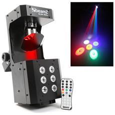 Tipo Di Gioco Scanner Luce Stroboscopica Con Rgbaw 36w + Control - Dmx - Beamz Scan200st
