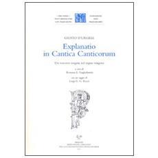 Explanatio in Cantica Canticorum. Un vescovo esegeta nel regno visigoto