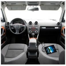 IPW-CAR-MICRO3 - Caricabatterie Micro USB da Auto con Cavo Spiralato Nero