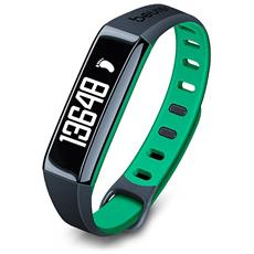 Activity Tracker AS 80 C Bluetooth per Fitness Colore Verde - Europa