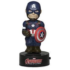 Figura Avengers Age Of Ultron Body Knocker Bobble Figure Captain America 15 Cm