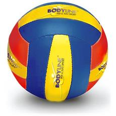 Pallone Beach Vbn Volley Giallo Blu Taglia Unica