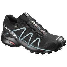 Scarpe Trail Donna Speedcross 4 Gtx Gore 38,6 Nero Azzurro