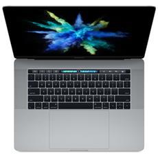 "MacBook Pro Monitor 15.4"" Retina Intel Core i7 Quad Core Ram 16GB SSD 512GB AMD Radeon Pro 4GB 4xThunderbolt 3 OS X - Grigio Siderale"