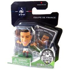 calcio figurine 'hatem ben arfa' fff - team france - [ n6386]