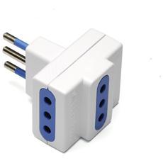 G&BL TR10 Tipo L (IT) Tipo L (IT) Bianco adattatore per presa di corrente