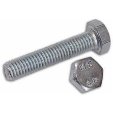 Viti per Metallo Zincate classe 4.8 TE 6x120 mm Senza Dado conf. 100 pz