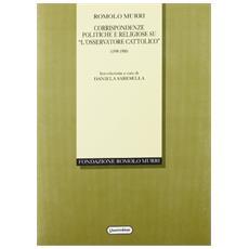 Corrispondenze politiche e religiose su �L'Osservatore cattolico� (1898-1900)
