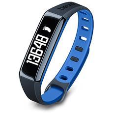 Activity Tracker AS 80 C Bluetooth per Fitness Colore Blu - Europa