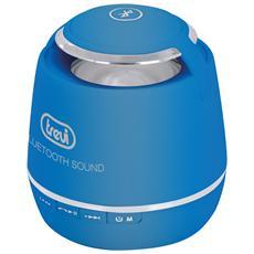 Mini Speaker Bluetooth con Vivavoce Aux Colore Blu