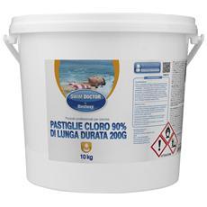 Cloro A Lunga Durata 90% (Tricloro) 10 Kg Pastiglie Da 200 Gr