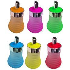 Set 2 Pezzi Zuccheriera Zuccheriere Con Dosatore Beccuccio In Vetro Fisermonica Accartocciata Colore Casuale