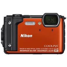 Coolpix W300 Sensore CMOS 16 Mpx Zoom Ottico 5x Video 4K Wi-Fi Bluetooth - Arancione