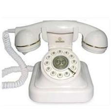 VINTAGE20 telefono a filo WHITE